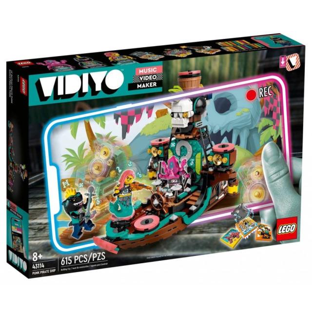 Obrázek produktu LEGO VIDIYO 43114 Punk Pirate Ship