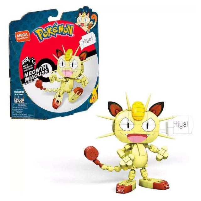 Obrázek produktu Mega Construx Pokémon Meowth, Mattel GKY98