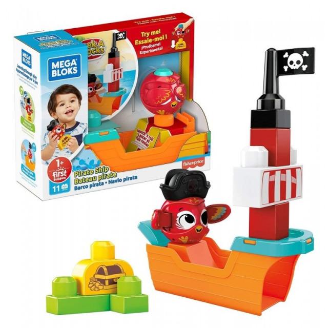 Obrázek produktu Mega Bloks Peek a Blocks Pirátská loď