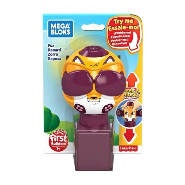 Obrázek produktu Mega Bloks Peek a Blocks Liška, Mattel GKX50