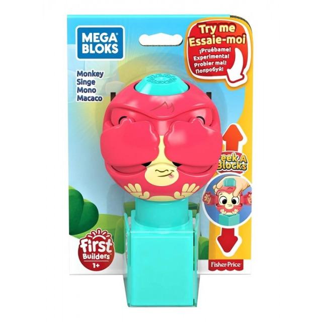 Obrázek produktu Mega Bloks Peek a Blocks Opička, Mattel GKX51