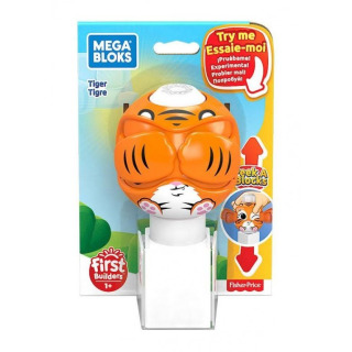 Obrázek 1 produktu Mega Bloks Peek a Blocks Tygr, Mattel GKX48