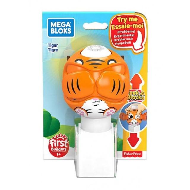Obrázek produktu Mega Bloks Peek a Blocks Tygr, Mattel GKX48