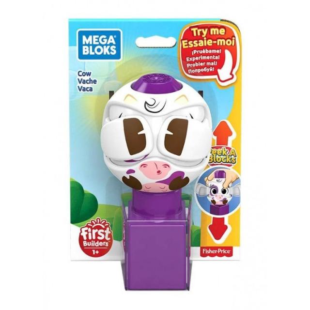 Obrázek produktu Mega Bloks Peek a Blocks Kravička, Mattel GKX47