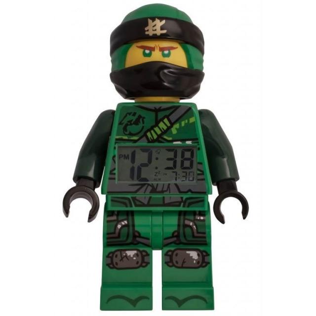 Obrázek produktu LEGO Ninjago hodiny s budíkem Lloyd green/black