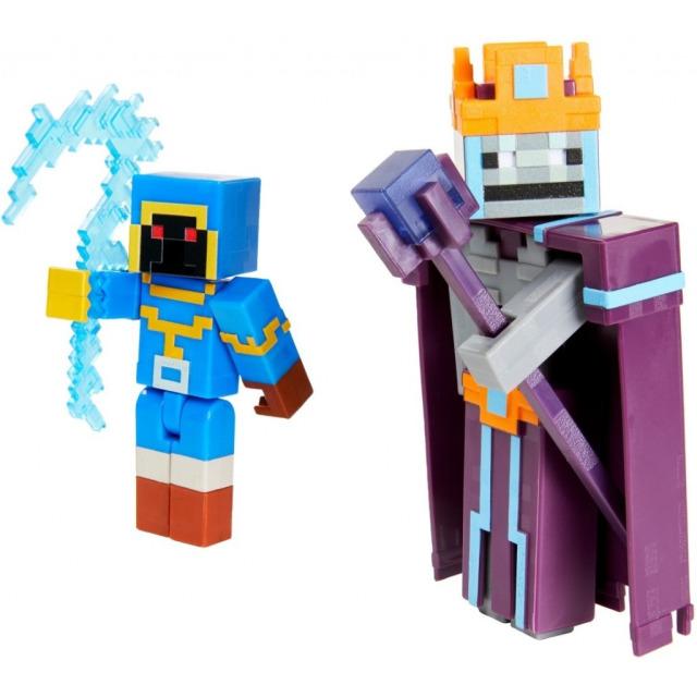 Obrázek produktu Minecraft Dungeons Stax vs. Skeleton Necromancer, Mattel GVL30