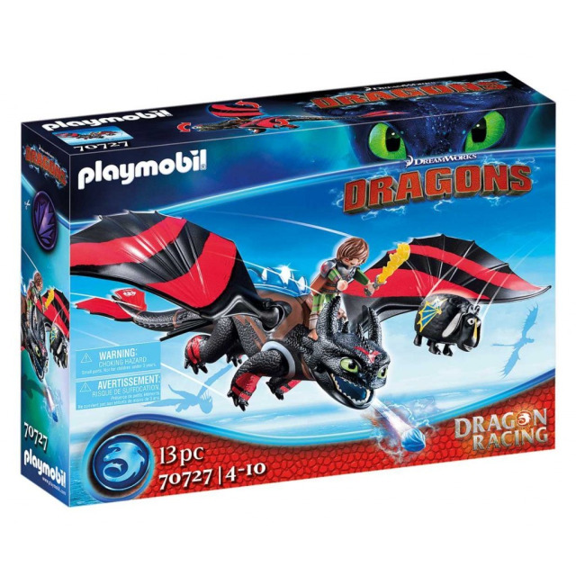 Obrázek produktu Playmobil 70727 Dragon Racing: Škyťák a Bezzubka
