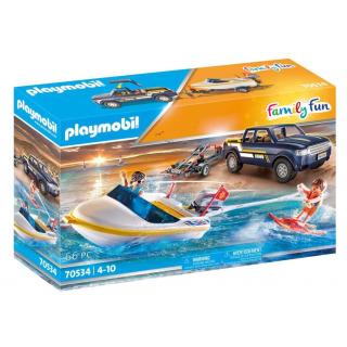 Obrázek 1 produktu Playmobil 70534 Pick-up s motorovým člunem
