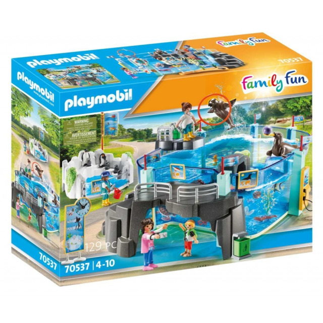 Obrázek produktu Playmobil 70537 Set Akvárium s bazénem pro tučňáky