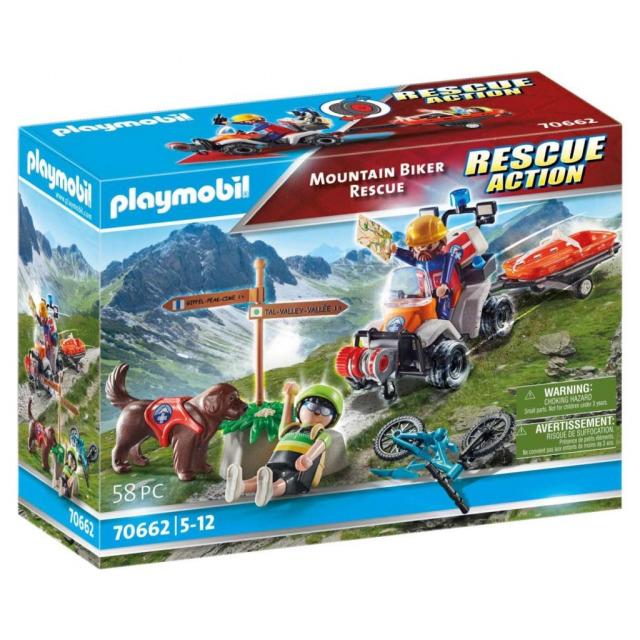Obrázek produktu Playmobil 70662 Horský záchranář s cyklistou