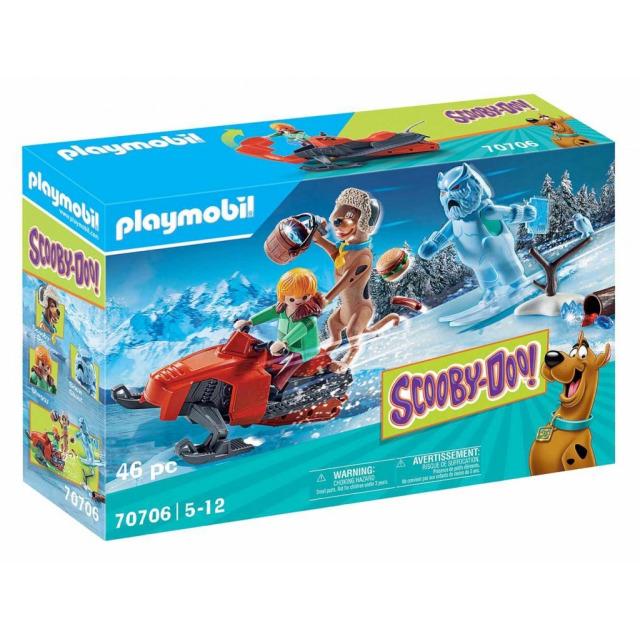 Obrázek produktu Playmobil 70706 SCOOBY-DOO! Dobrodružství se sněžným duchem