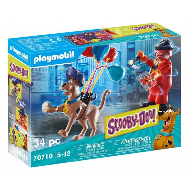 Obrázek produktu Playmobil 70710 SCOOBY-DOO! Dobrodružství s duchem klauna