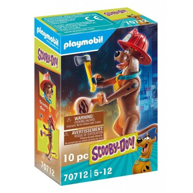 Obrázek produktu Playmobil 70712 SCOOBY-DOO! Sběratelská figurka Hasič