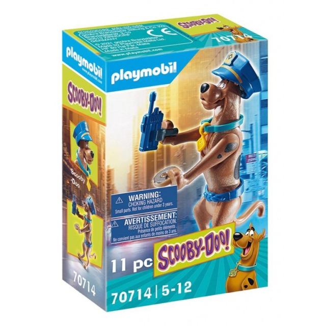Obrázek produktu Playmobil 70714 SCOOBY-DOO! Sběratelská figurka Policista