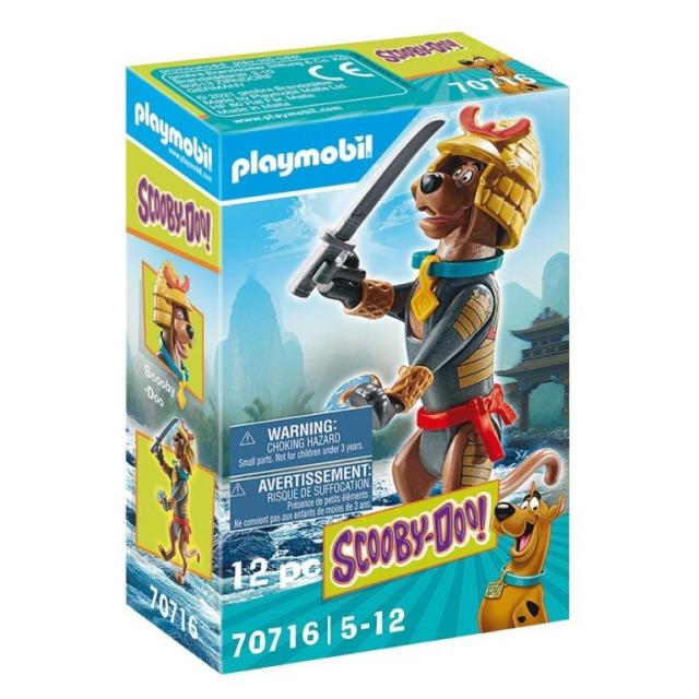 Obrázek produktu Playmobil 70716 SCOOBY-DOO! Sběratelská figurka Samuraj