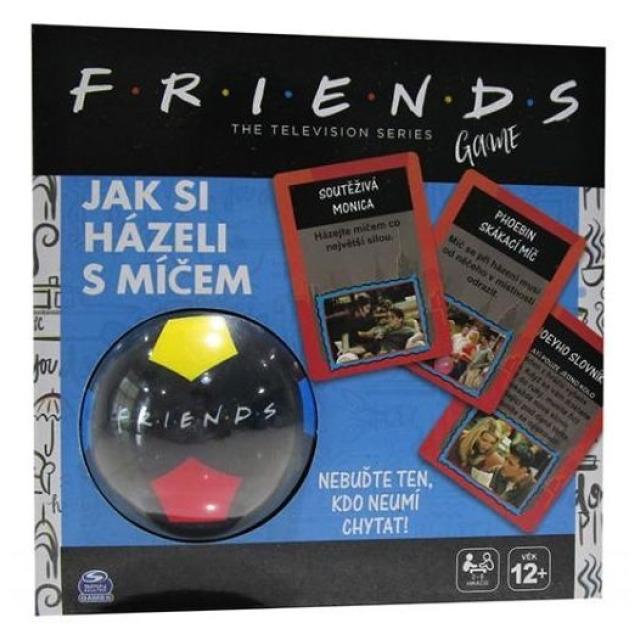 Obrázek produktu FRIENDS Přátelé Jak si hráli s míčem společenská hra, Spin Master