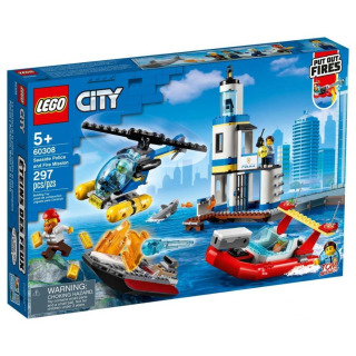 Obrázek 1 produktu LEGO CITY 60308 Pobřežní policie a jednotka hasičů