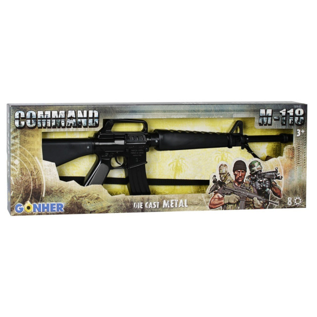 Obrázek produktu Gonher Policejní útočná puška 8 ran
