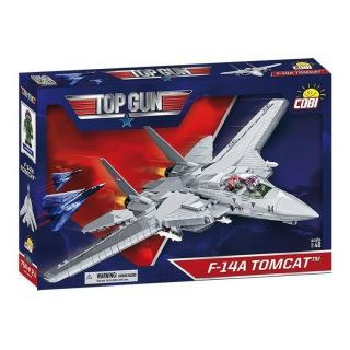 Obrázek 1 produktu COBI 5811 TOP GUN Maverick Americký víceúčelový stíhací letoun F-14A TOMCAT