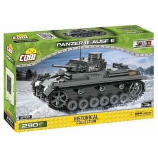 Obrázek 1 produktu COBI 2707 World War II Německý střední tank Panzer III Pz. KpfW. AUSF. E