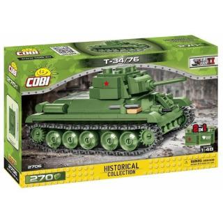 Obrázek 1 produktu COBI 2706 World War II Ruský střední tank T-34/76