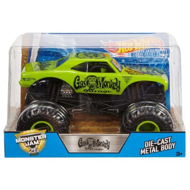 Obrázek produktu Spin Master Monster Jam Sběratelské Die-Cast Auto 1:24 Gas Monkey