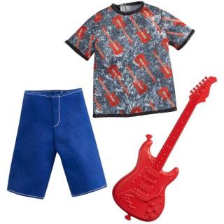 Obrázek 1 produktu Barbie Ken profesní oblečení hudebník, Mattel GRC71