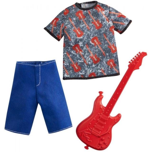 Obrázek produktu Barbie Ken profesní oblečení hudebník, Mattel GRC71