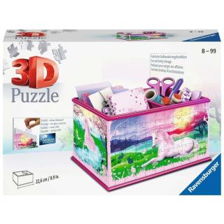 Obrázek 1 produktu Ravensburger 12101 Puzzle 3D Úložná krabice Jednorožec 216 dílků