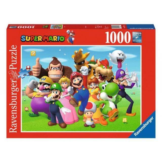Obrázek produktu Ravensburger 14970 Puzzle Super Mario 1000 dílků