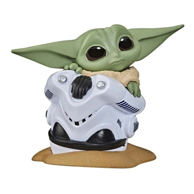 Obrázek produktu Star Wars The Bounty Collection Baby Yoda Úkryt v helmě, Hasbro F1474