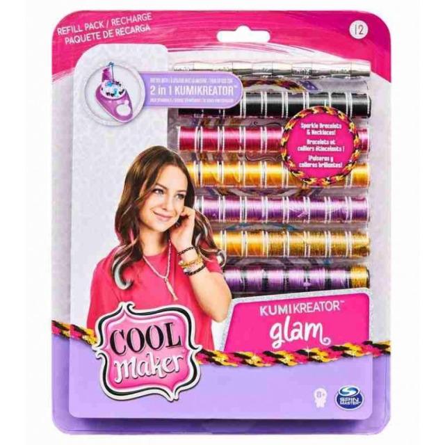 Obrázek produktu Cool Maker Náhradní nitě pro náramkovač KUMI GLAM
