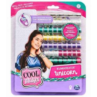 Obrázek 1 produktu Cool Maker Náhradní nitě pro náramkovač KUMI UNICORN