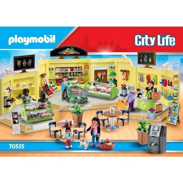Obrázek produktu Playmobil 70535 Mega set Obchodní centrum