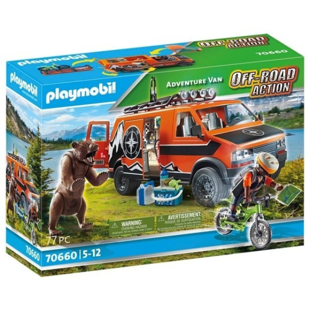 Obrázek produktu Playmobil 70660 Dobrodružná dodávka