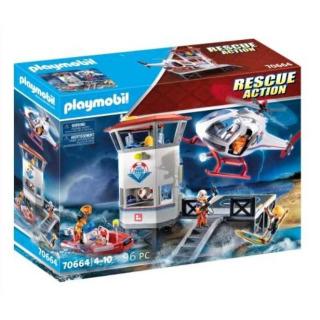 Obrázek 1 produktu Playmobil 70664 Mega Set Pobřežní stráž