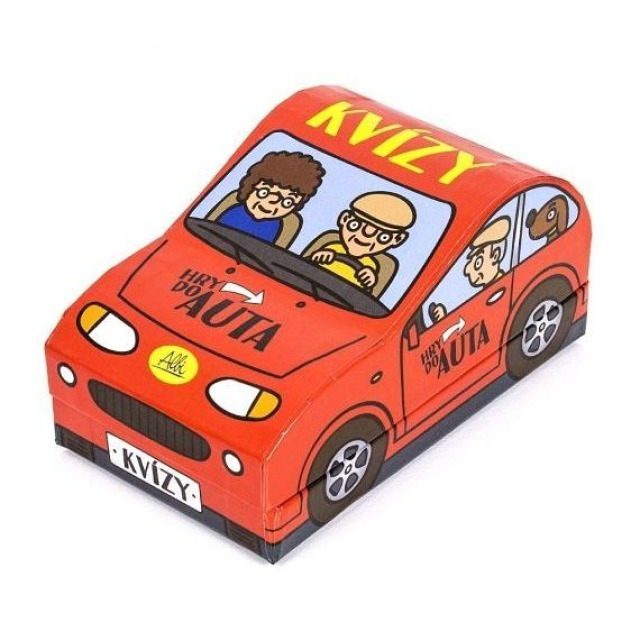 Obrázek produktu Albi Hra do auta - Kvízy