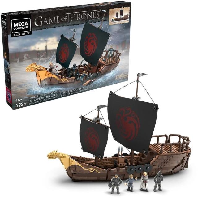 Obrázek produktu Mega Bloks Hra o trůny Targaryenská loď, Mattel GPB29