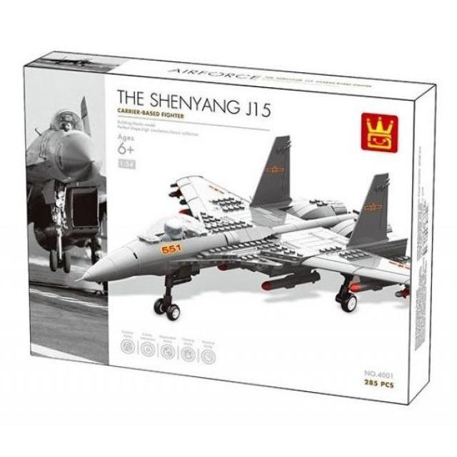 Obrázek produktu AIR FORCE 4001 Stíhačka Shenyang J15, 285 dílků