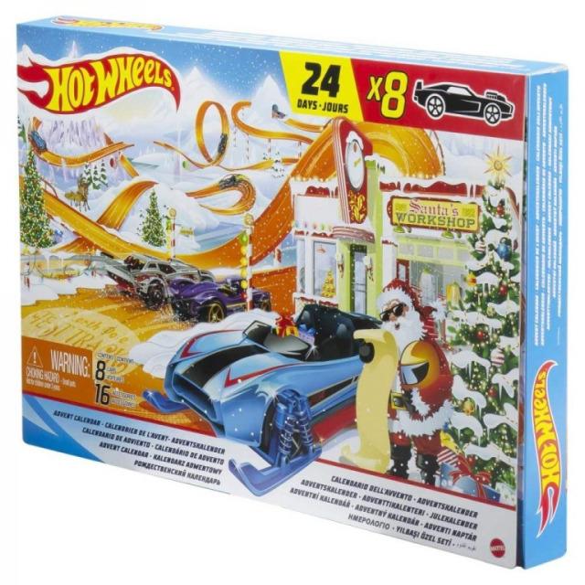 Obrázek produktu Mattel Hot Wheels Adventní kalendář, GTD78