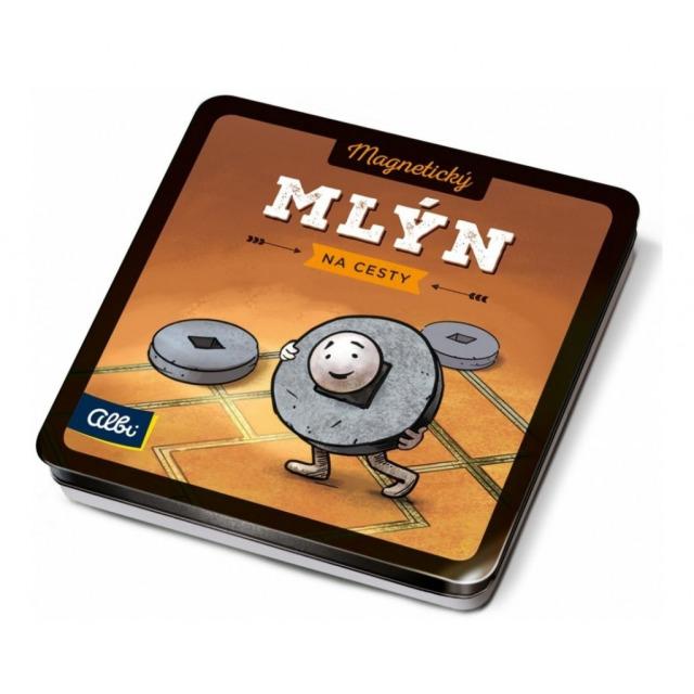 Obrázek produktu Magnetické hry na cesty Mlýn