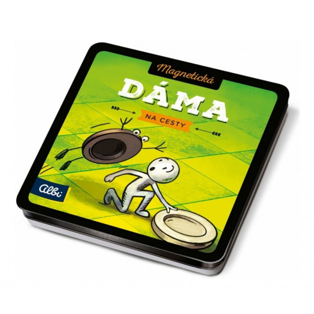 Obrázek produktu Magnetické hry na cesty Dáma