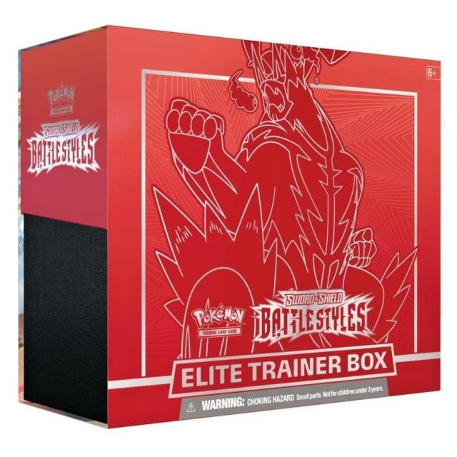 Obrázek produktu Pokémon TCG: SWSH05 Battle Styles - Elite Trainer Box RED