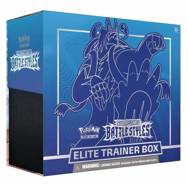 Obrázek produktu Pokémon TCG: SWSH05 Battle Styles - Elite Trainer Box BLUE