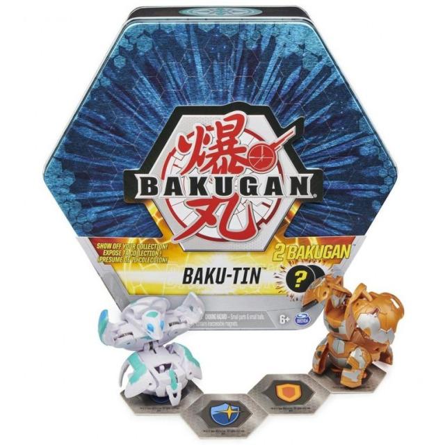 Obrázek produktu Bakugan Plechový box s exkluzivním Bakuganem S3, modý