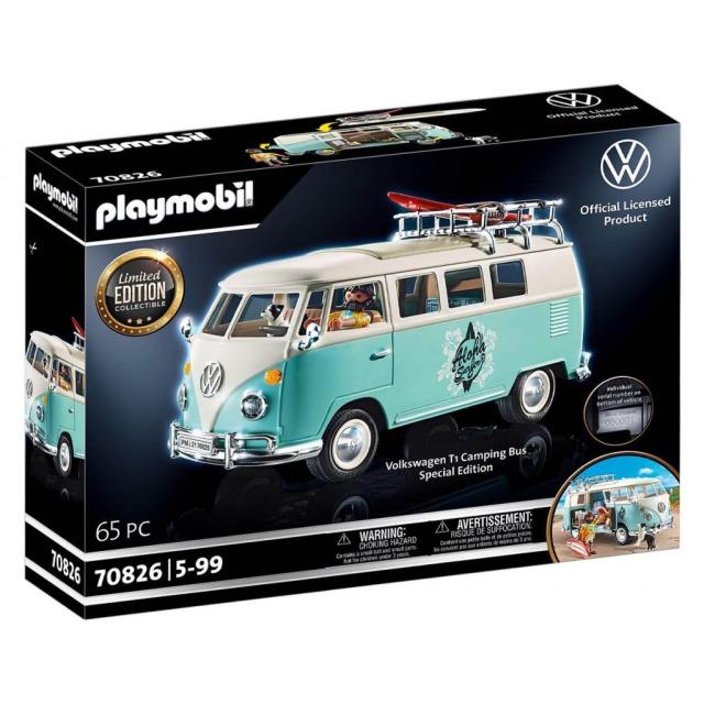 Obrázek produktu Playmobil 70826 Volkswagen T1 Bulli Chrome Speciální edice