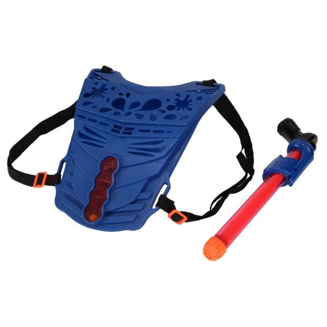 Obrázek produktu Vodní sada Pumpovací pistole 33 cm + Vesta modrá