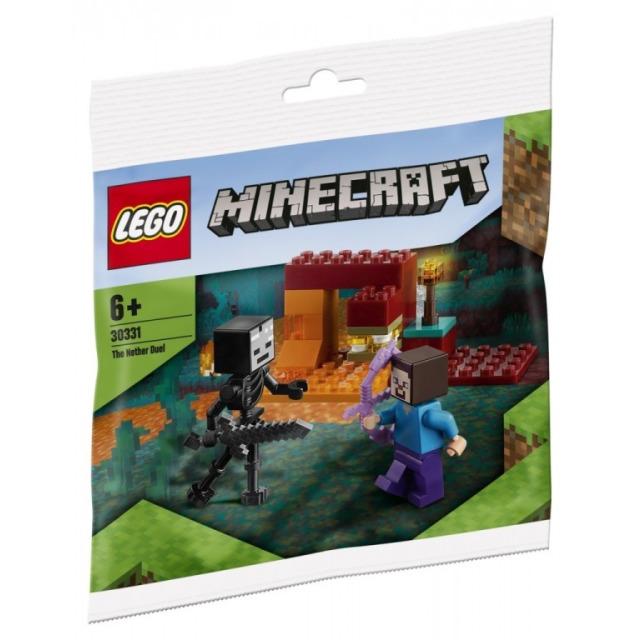 Obrázek produktu LEGO Minecraft 30331 The Nether Duel (Souboj v podsvětí)