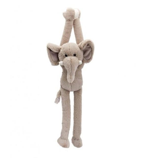 Obrázek produktu Plyšová zvířata Dangly Wild 55cm Slon