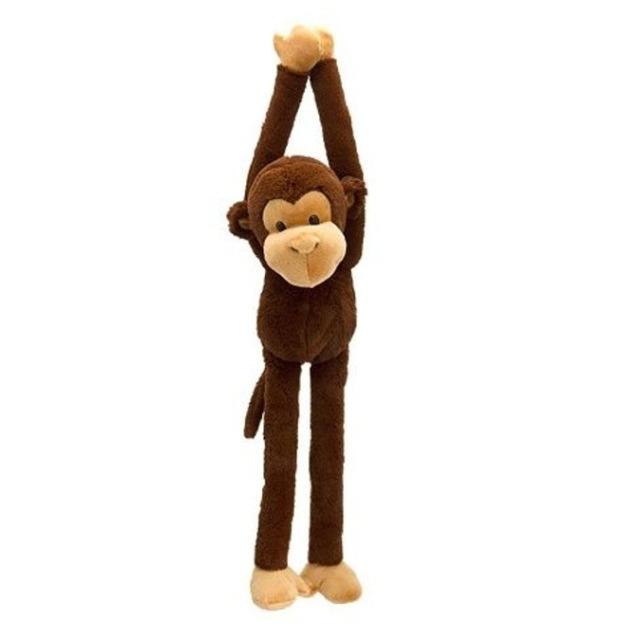 Obrázek produktu Plyšová zvířata Dangly Wild 55cm Opice